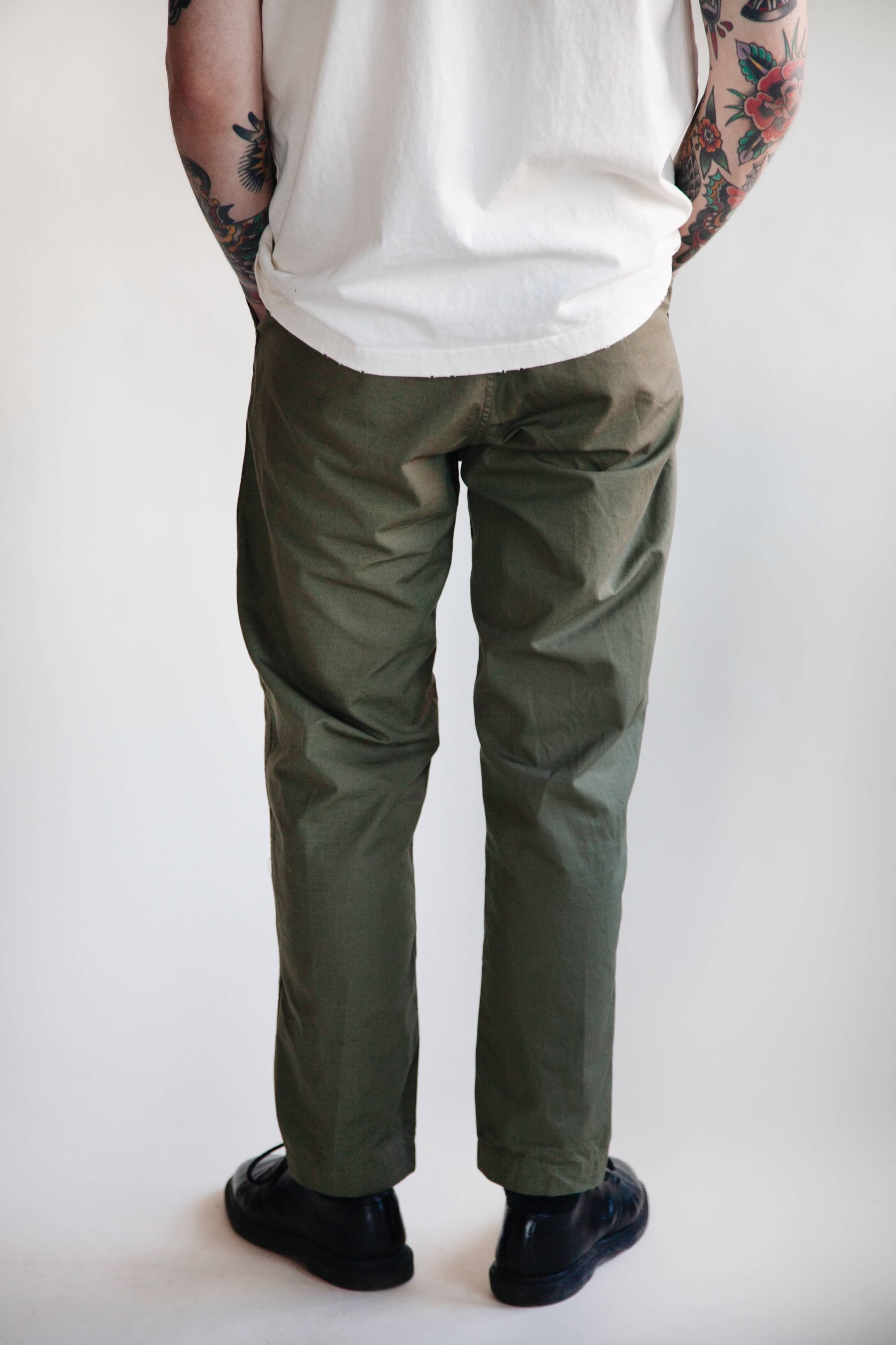 orslow new yorker pant on male model