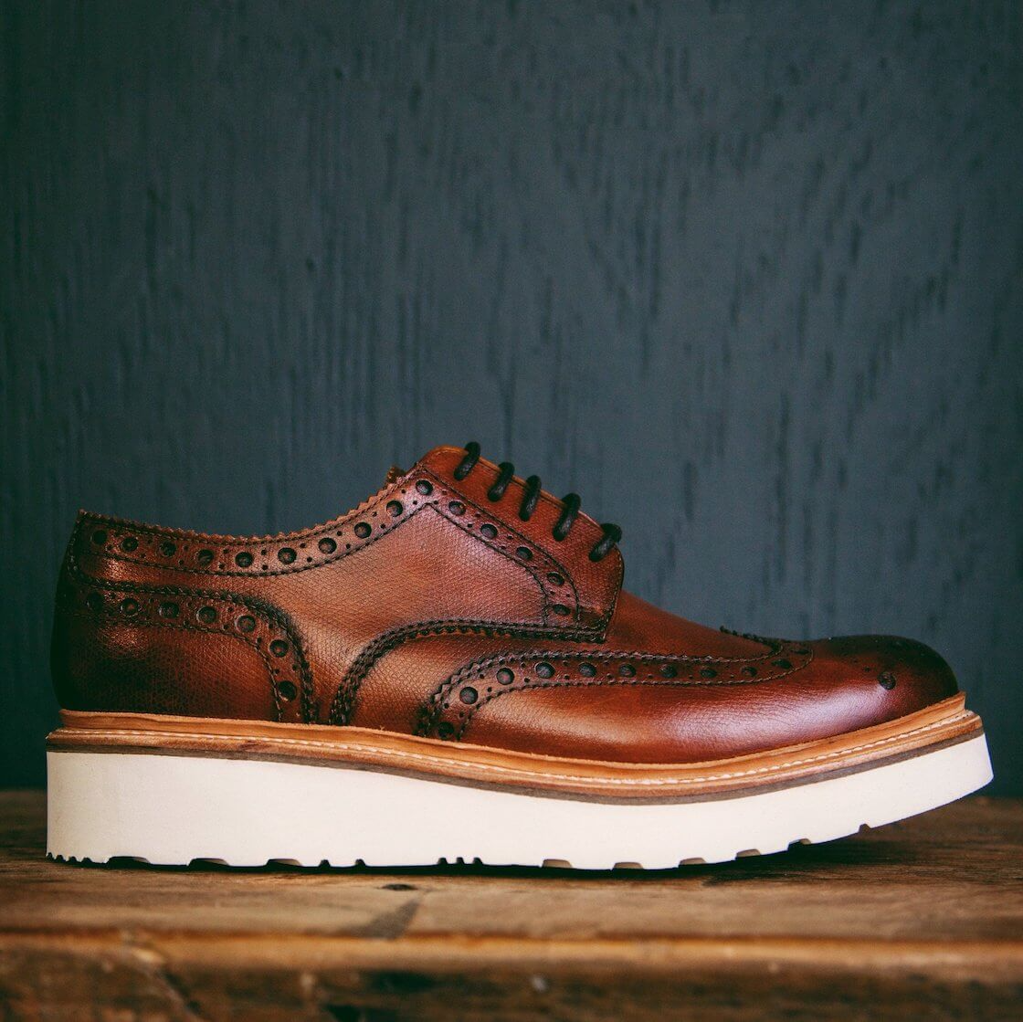 grenson brogue shoes