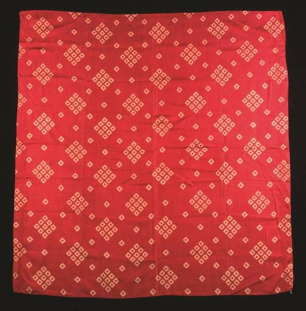 1880s dice pattern bandana