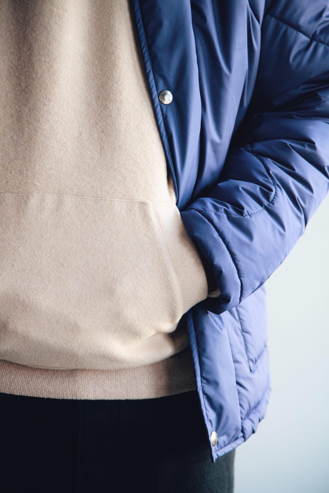 la paz barbosa padded jacket, la paz matias hoodie, harmony dorian jean on body