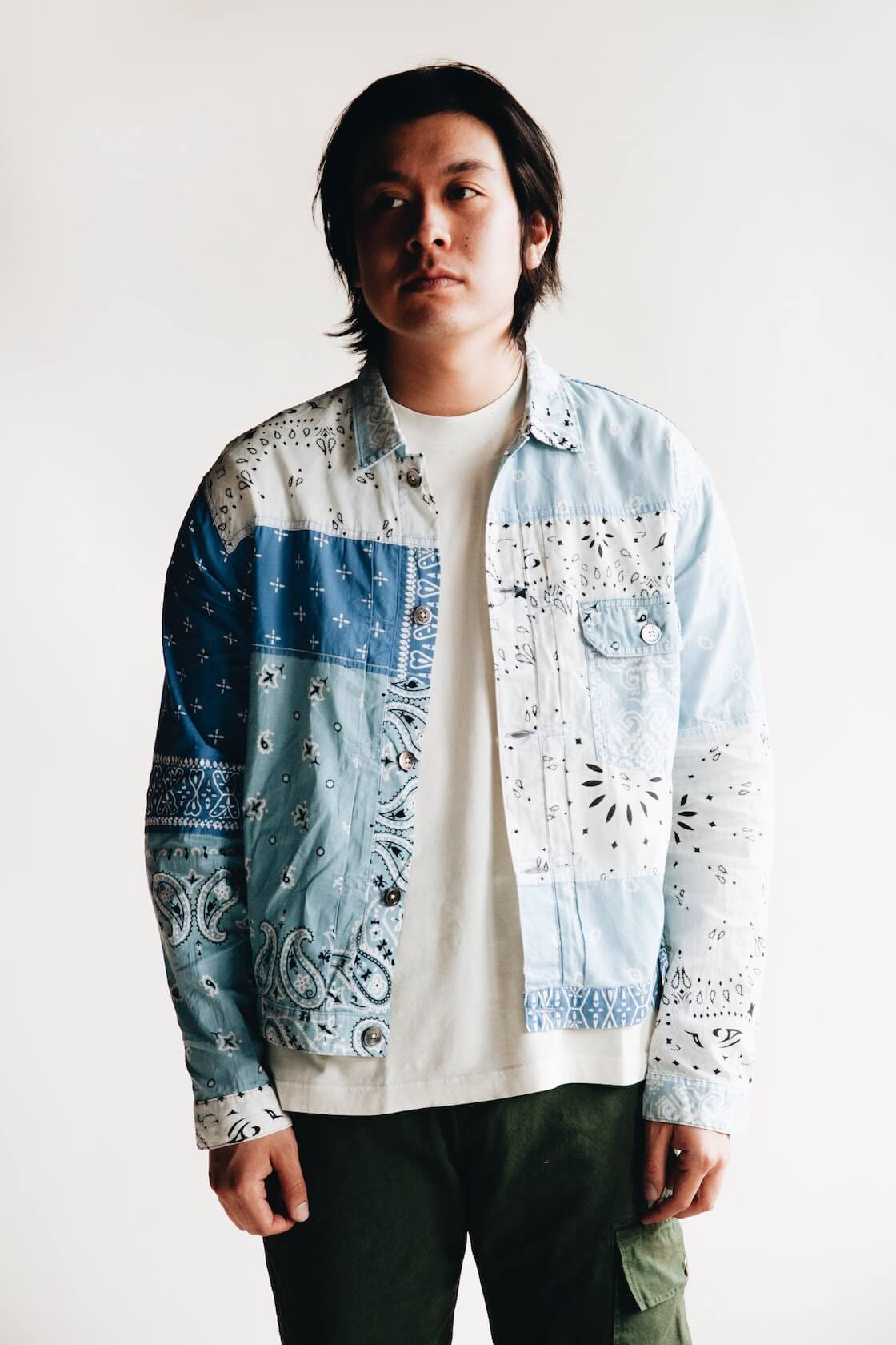 kapital japan's bandana inspired clothing from ss20