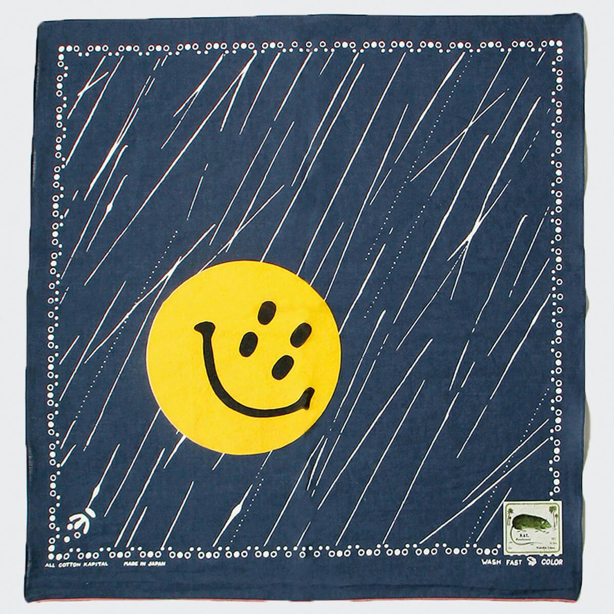 kapital rain smile bandana