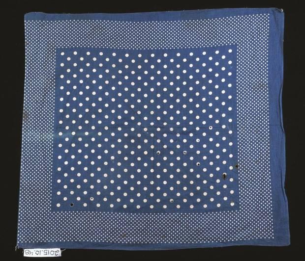 1890s dots pattern bandana