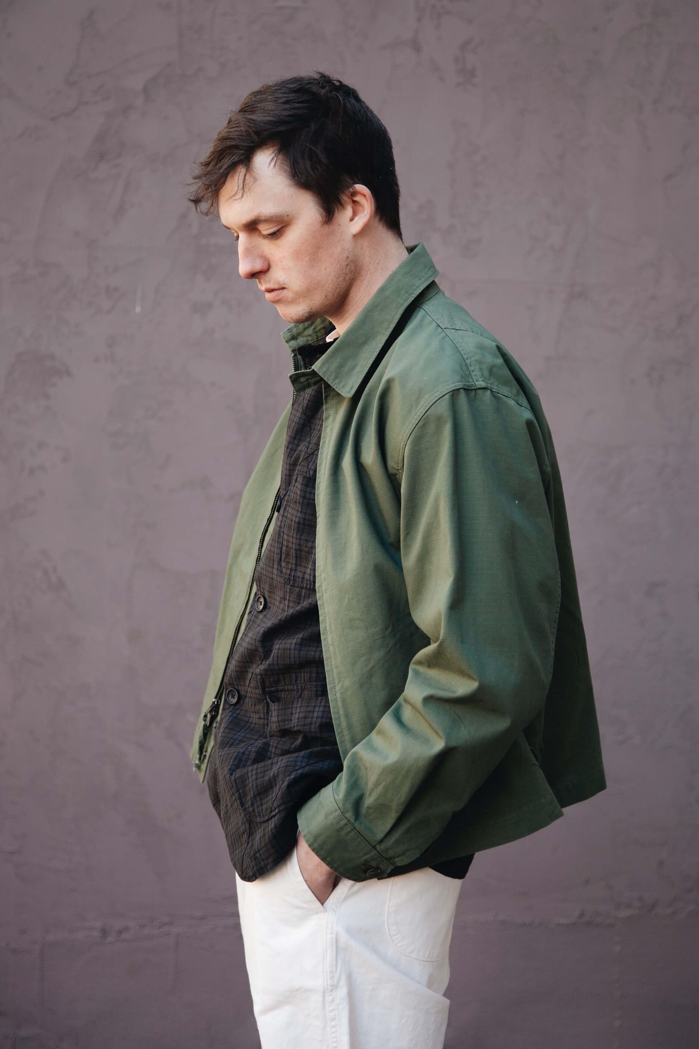 3 ways to style unstructured blazers featuring engineered garments loiter jacket