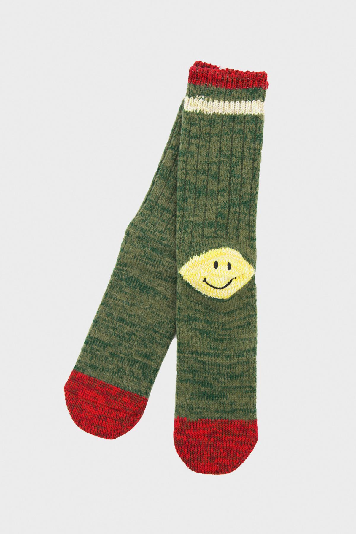 kapital clothing japan smiley heel socks