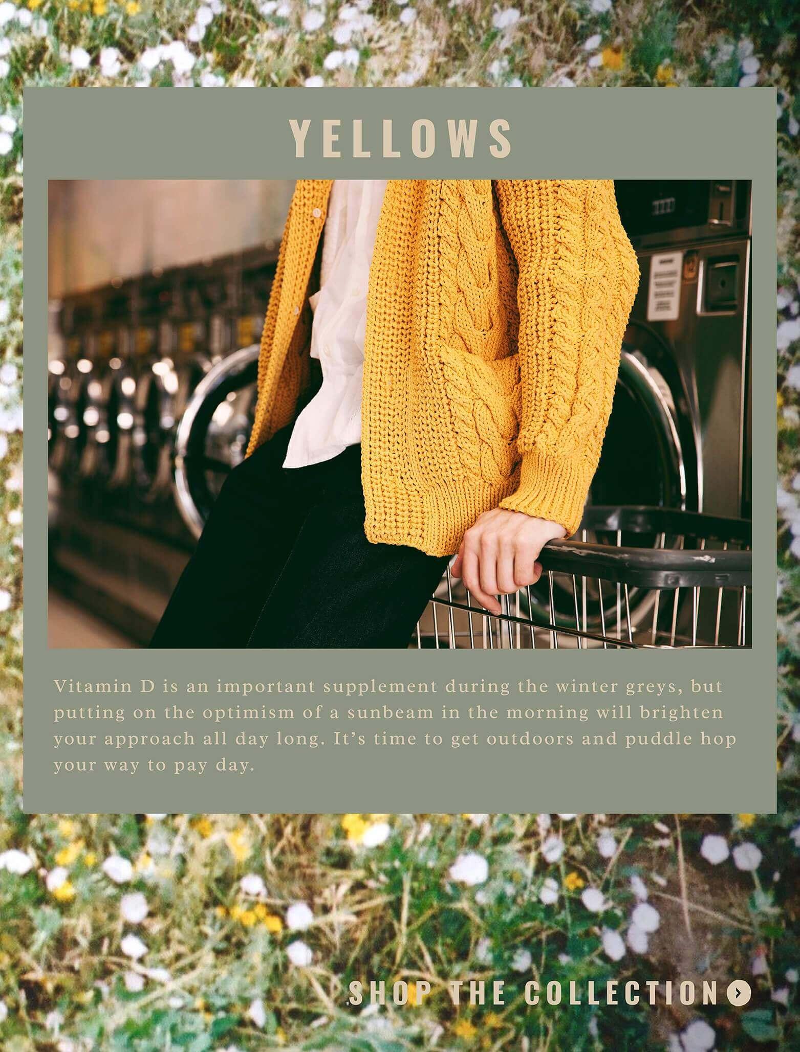 spring trend yellows slide