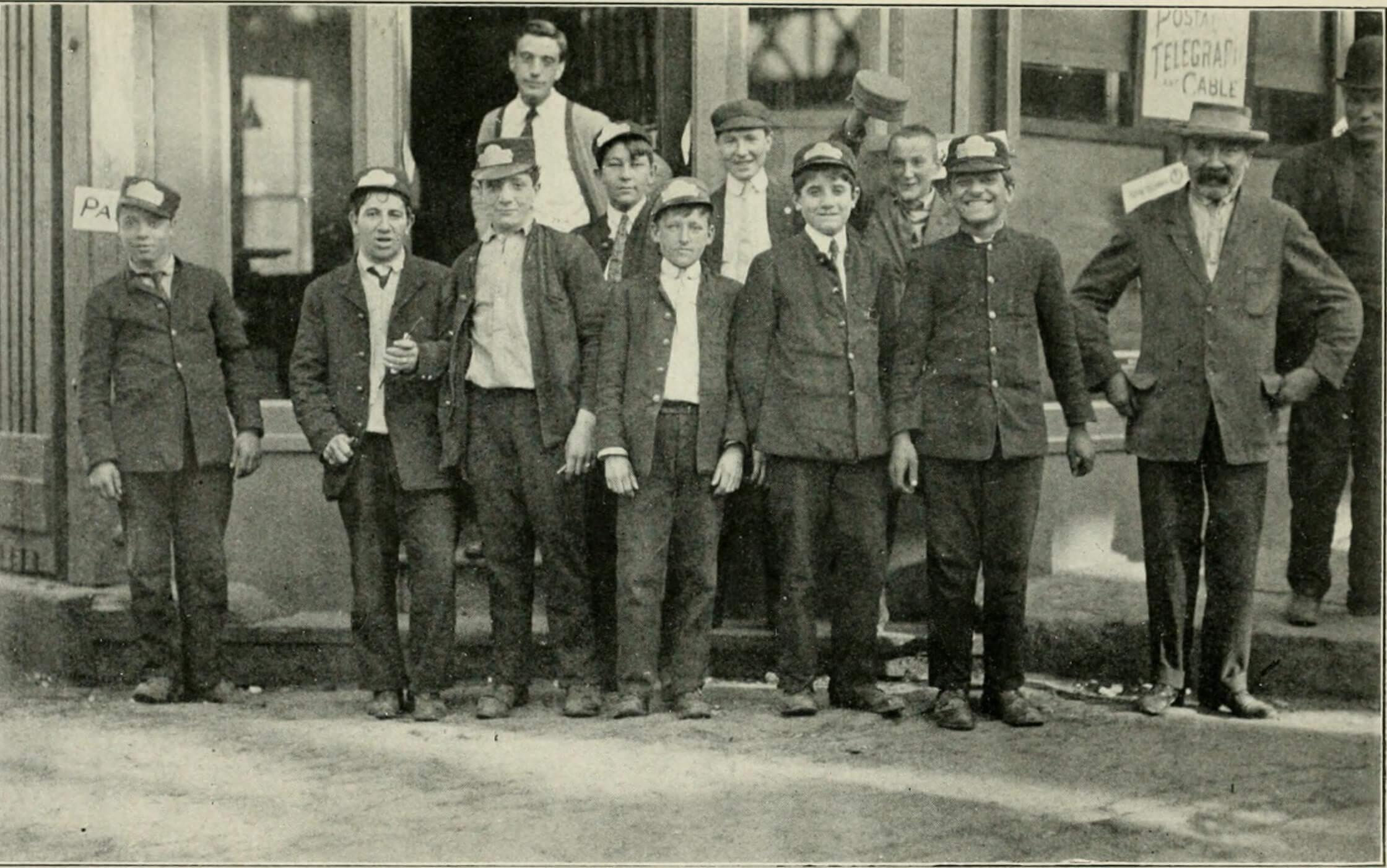 representative pictures of 1915 footwear and cultural disparity