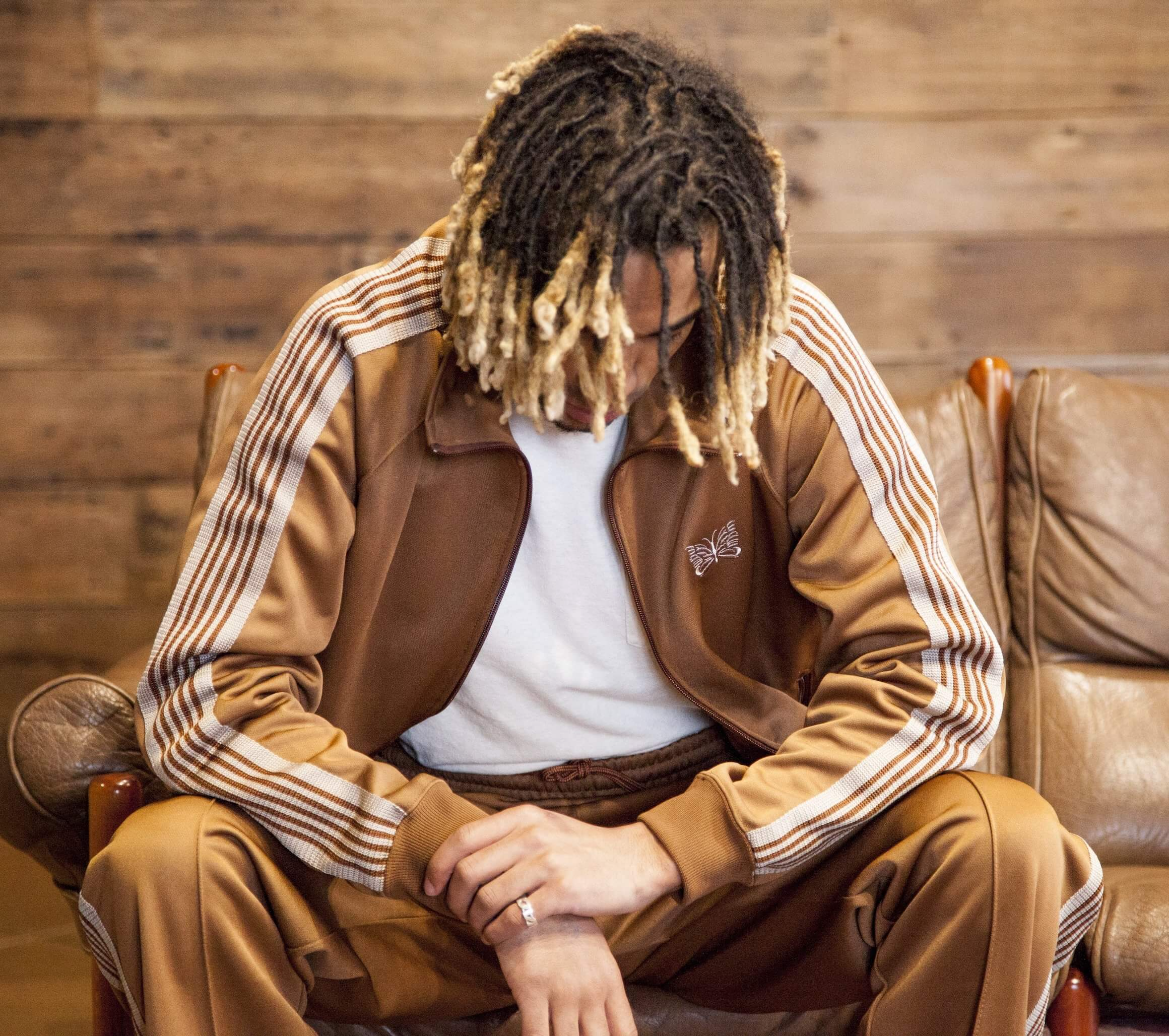needles japan nepenthes tracksuit