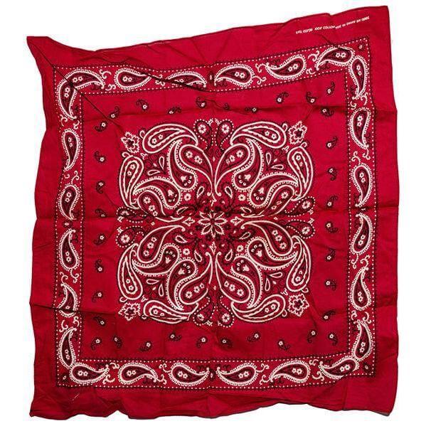 turkey red bandana from the 1920s