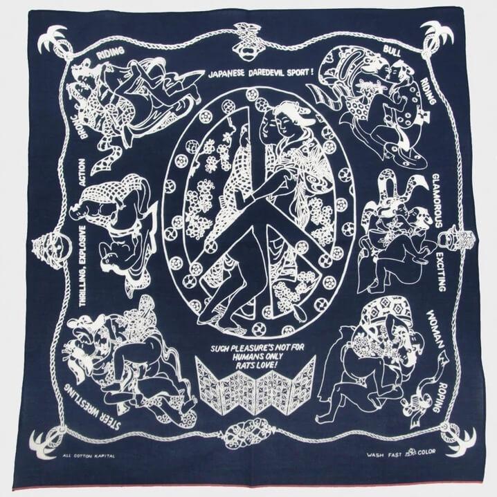 kapital rat's love bandana