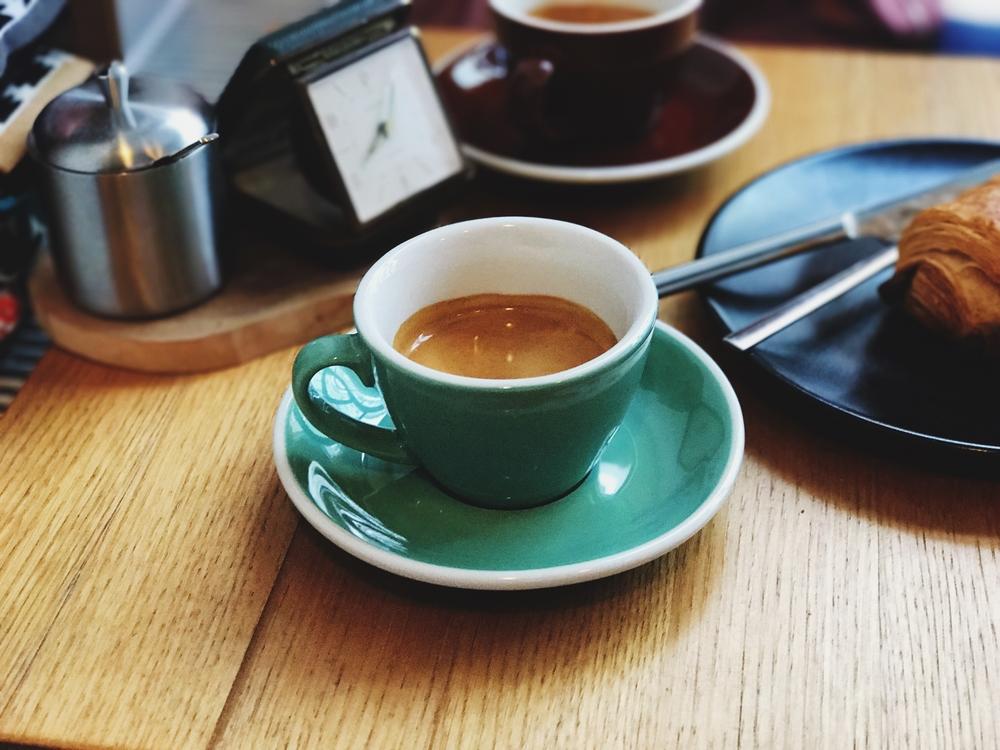 Third wave coffee mug