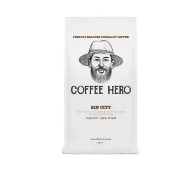 Freshly roasted coffee beans from coffeehero