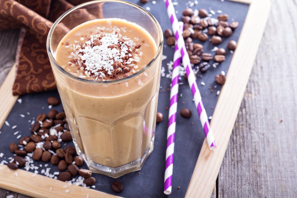 Coffee milkshakes