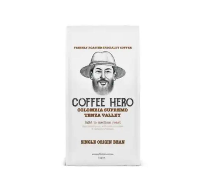 Freshly roasted coffeebeans from coffeehero