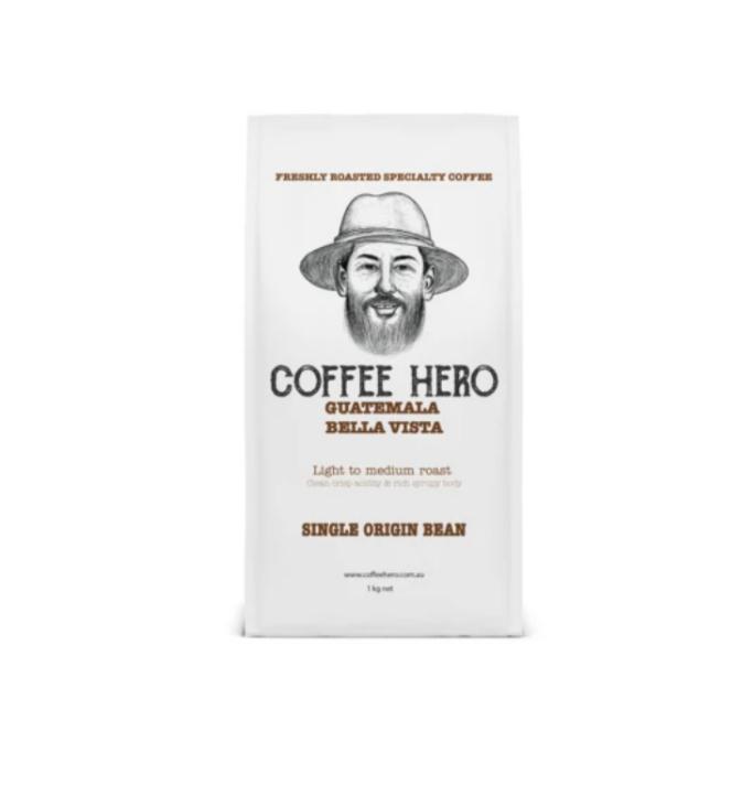 Fresh single origin coffee beans