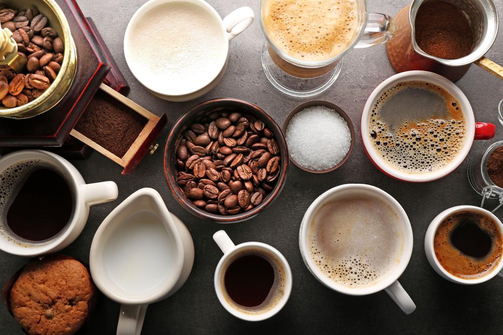 Common coffee drinks