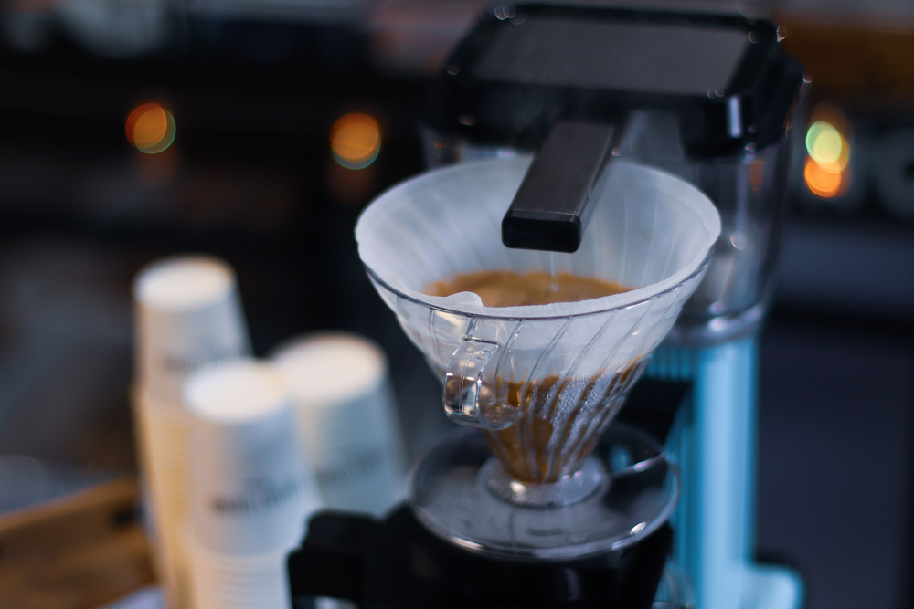 Brewing coffee with a MoccaMaster
