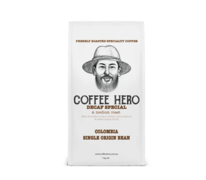 Decaf special from coffee hero