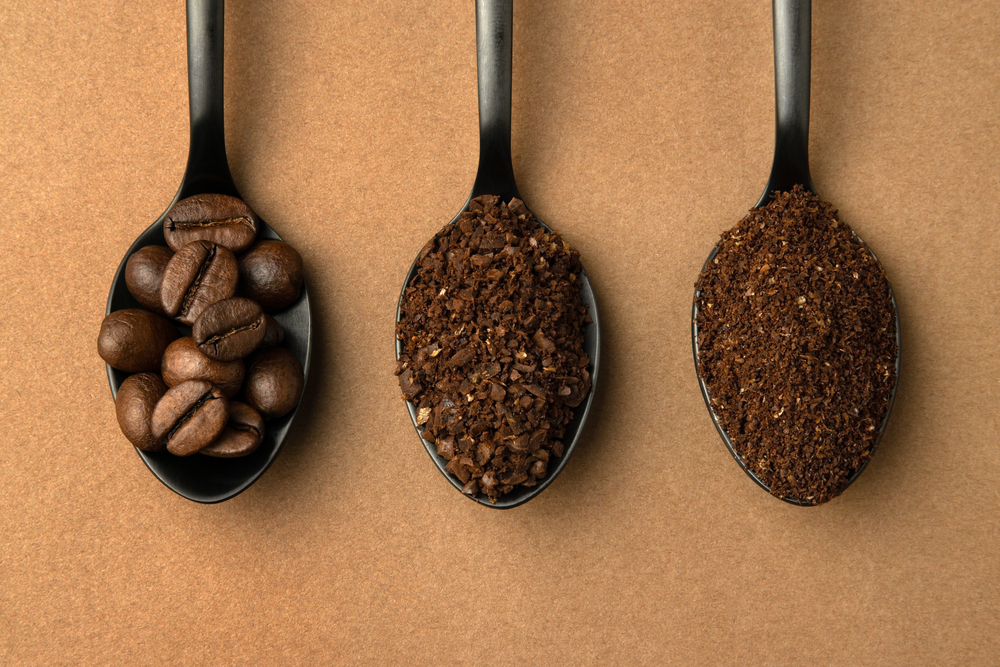 Different grind sizes in spoons