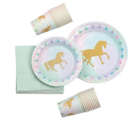 Unicorn tableware kit