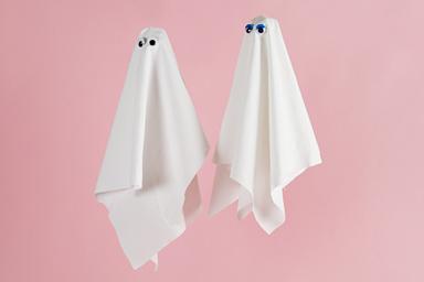 White Ghost Linen Napkins