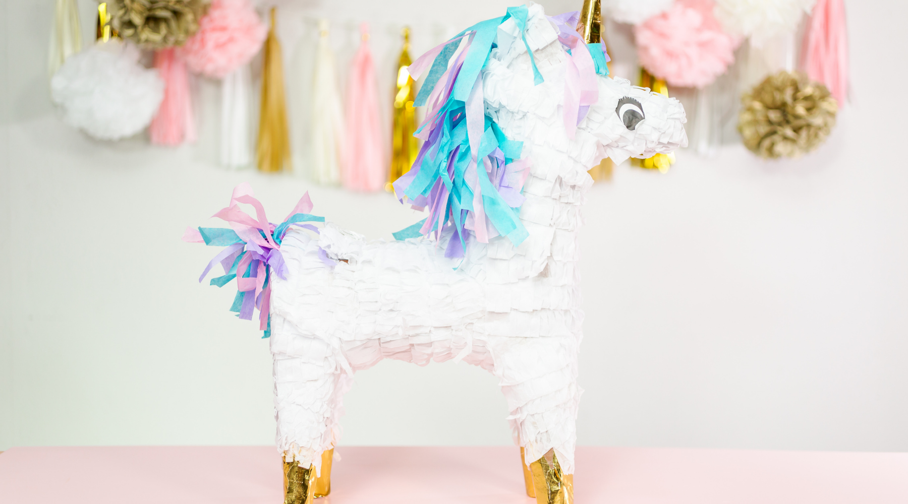 Unicorn birthday wall decor
