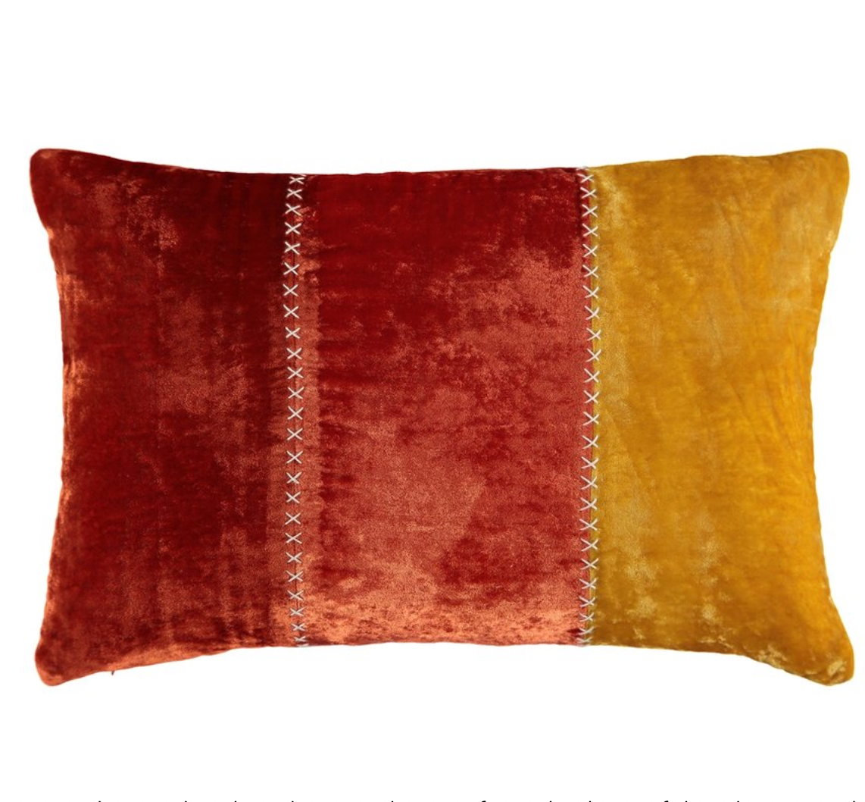 Aritha Orange Cushion