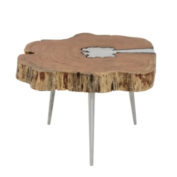 Edna Acacia Wood Coffee Table