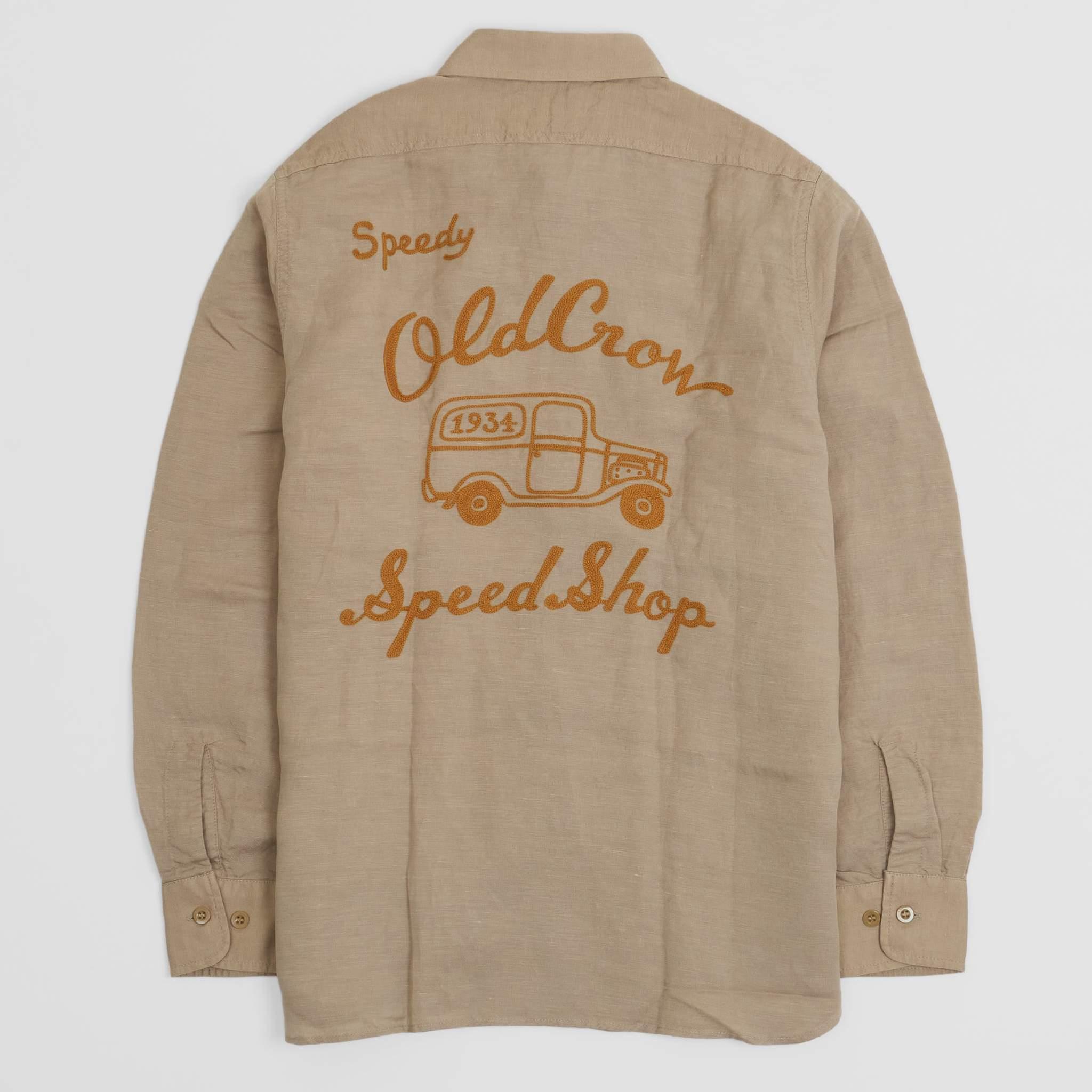 Old Crow Speed Shop Garage Shirt