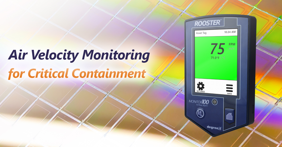 Monitoring Airflow in Clean Rooms