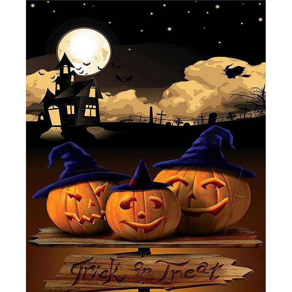 Traditional Halloween Malen nach Zahlen