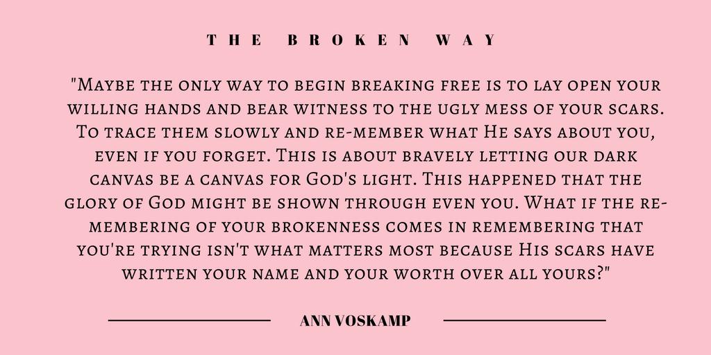 Ann Voskamp quote