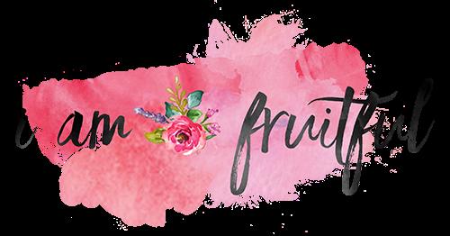 I am fruitful blog