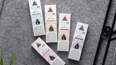 Boxes of Delta-8 cartridges