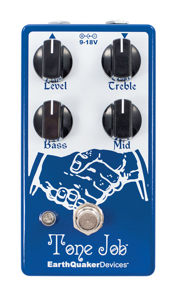 EarthQuaker Devices Tone Job V2 EQ and Boost Pedal