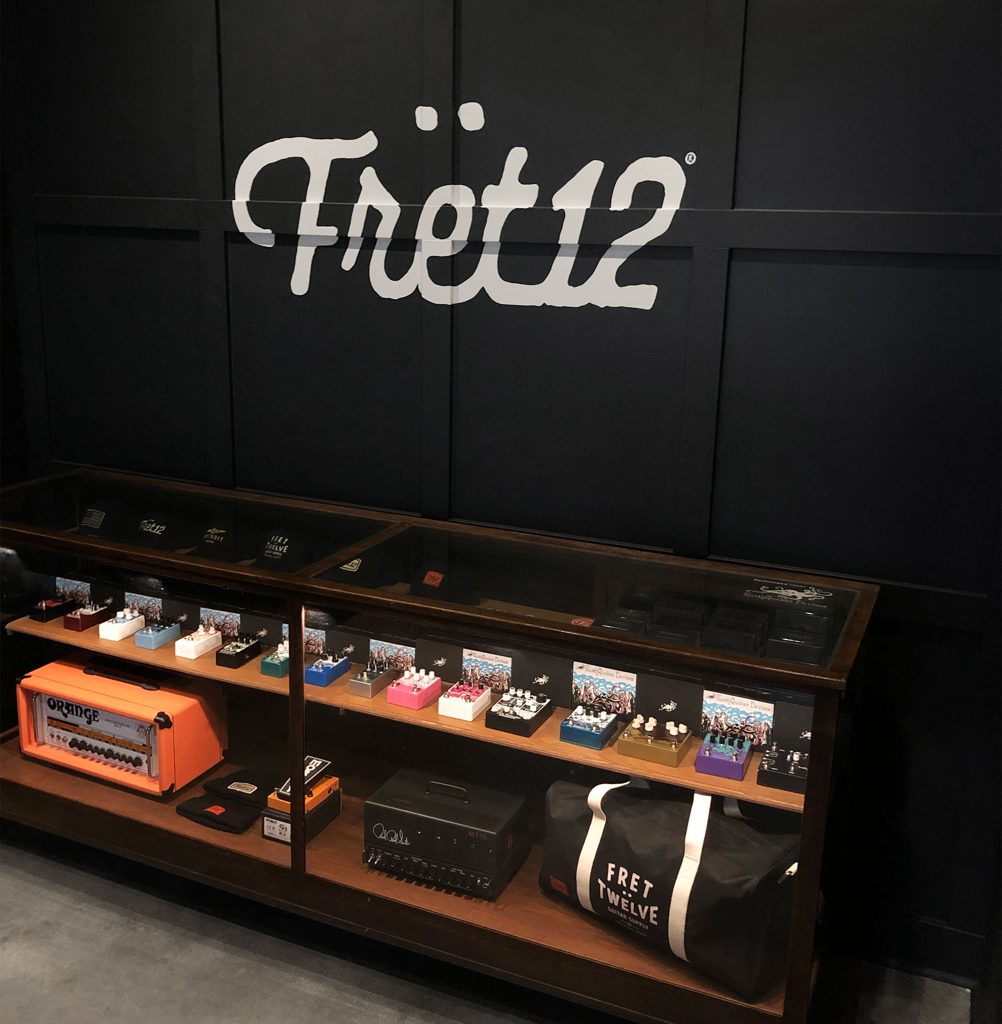 FRET12 is stoked to be an official #EarthquakerDevices dealer