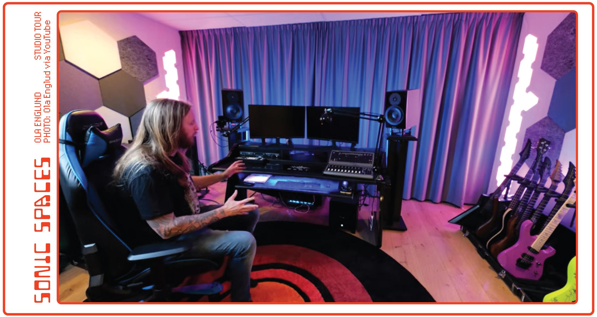 Ola Englund - Studio Tour
