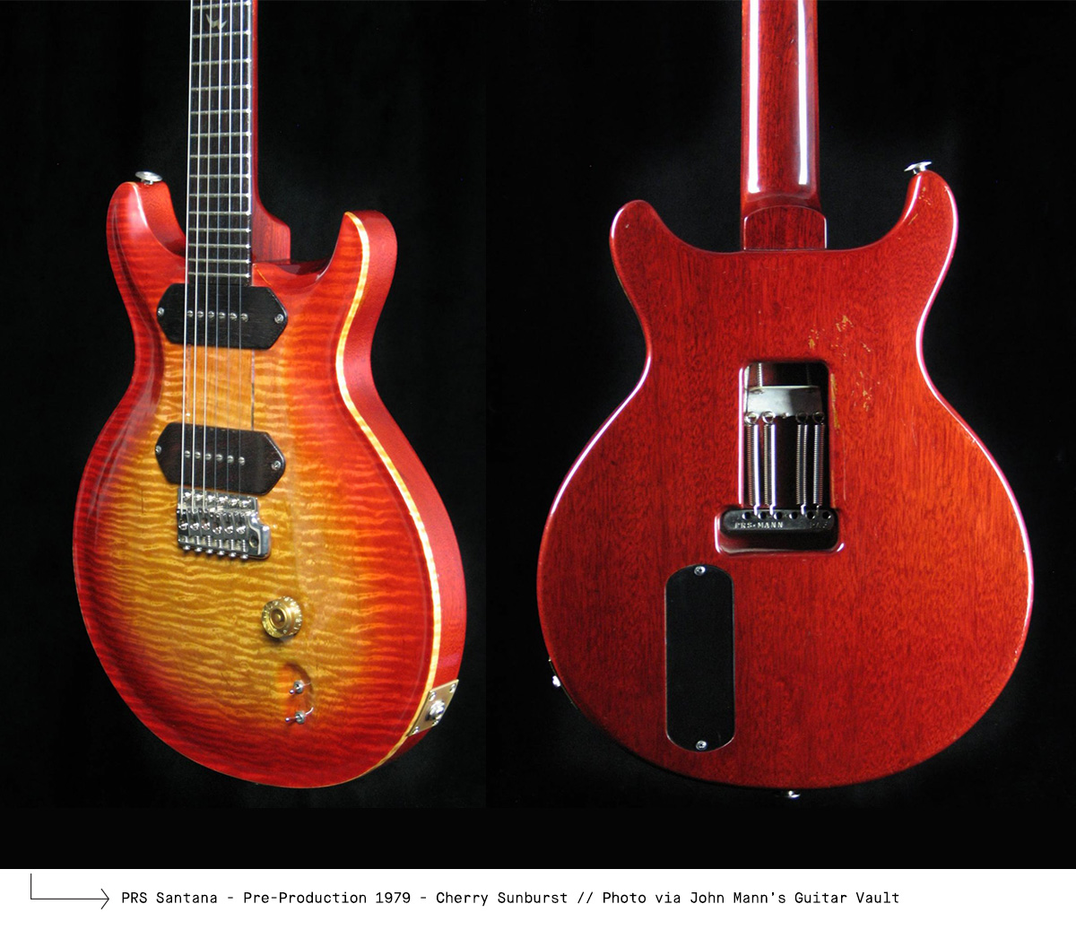 PRS Santana - Pre-Production 1979 - Cherry Sunburst
