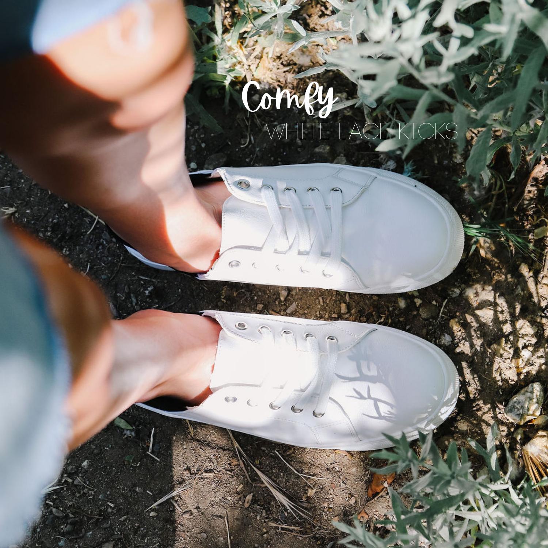 Favorite Sneaker Shoes - White