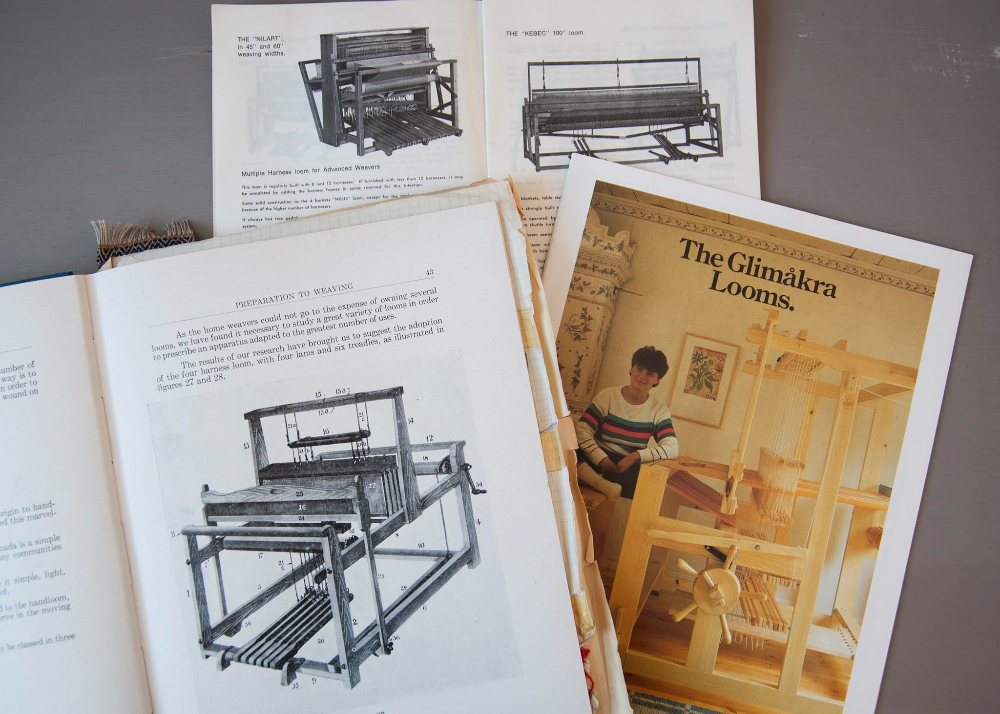 researching a used loom