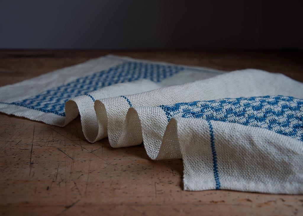 Overshot Handwoven Towel Pattern