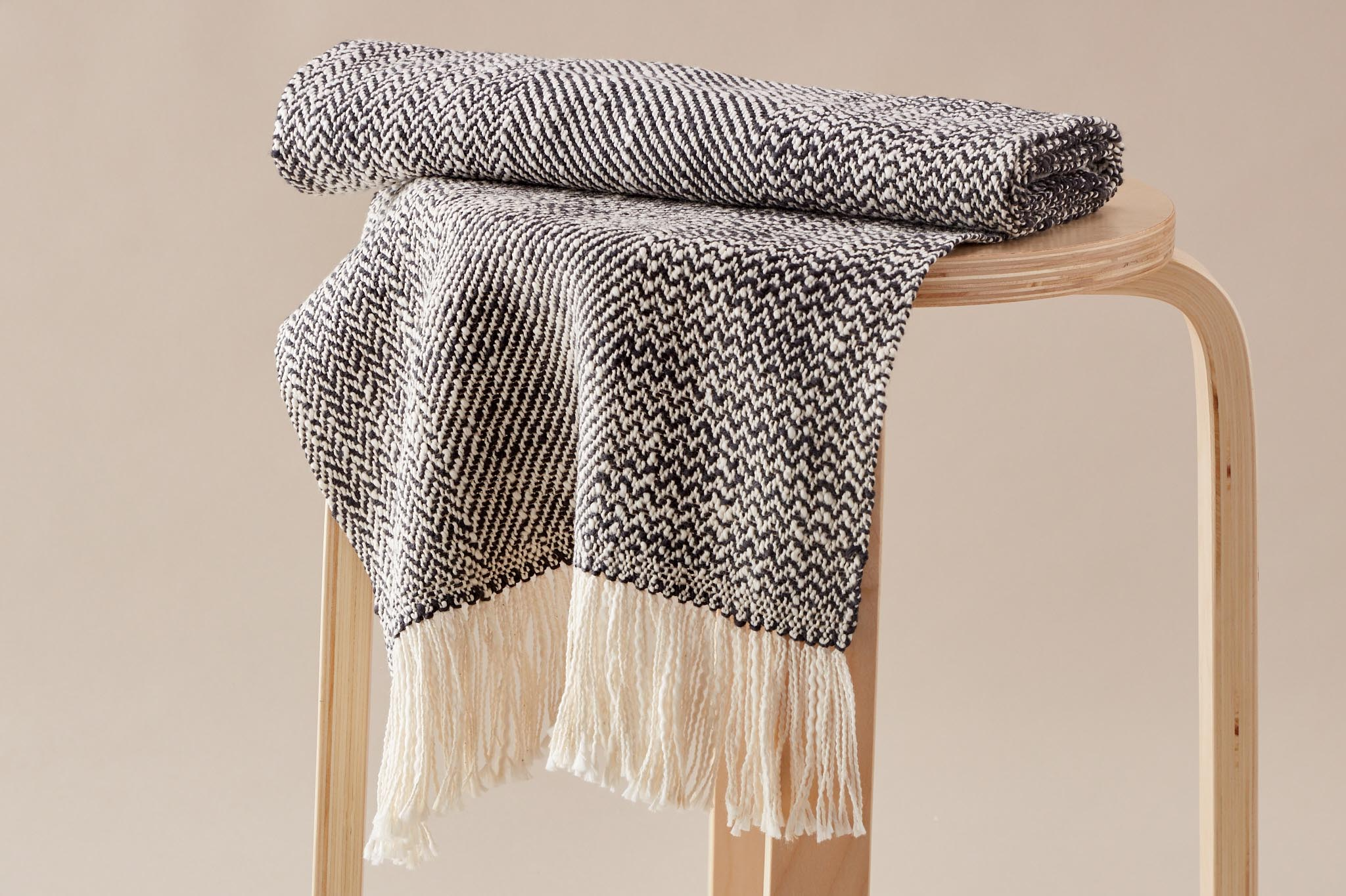 Handwoven Mixed Twill Scarf