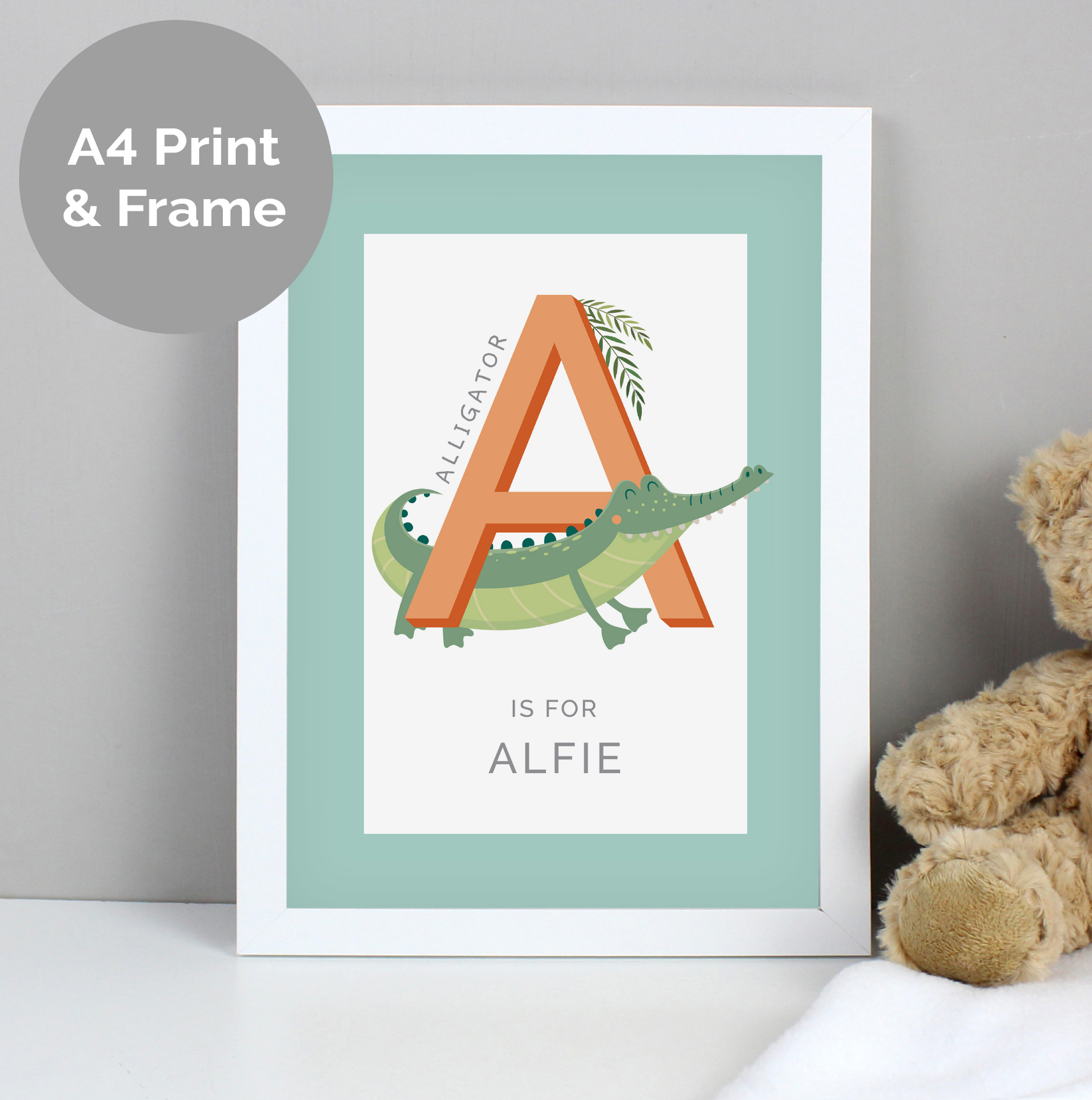 Personalised New Baby Prints