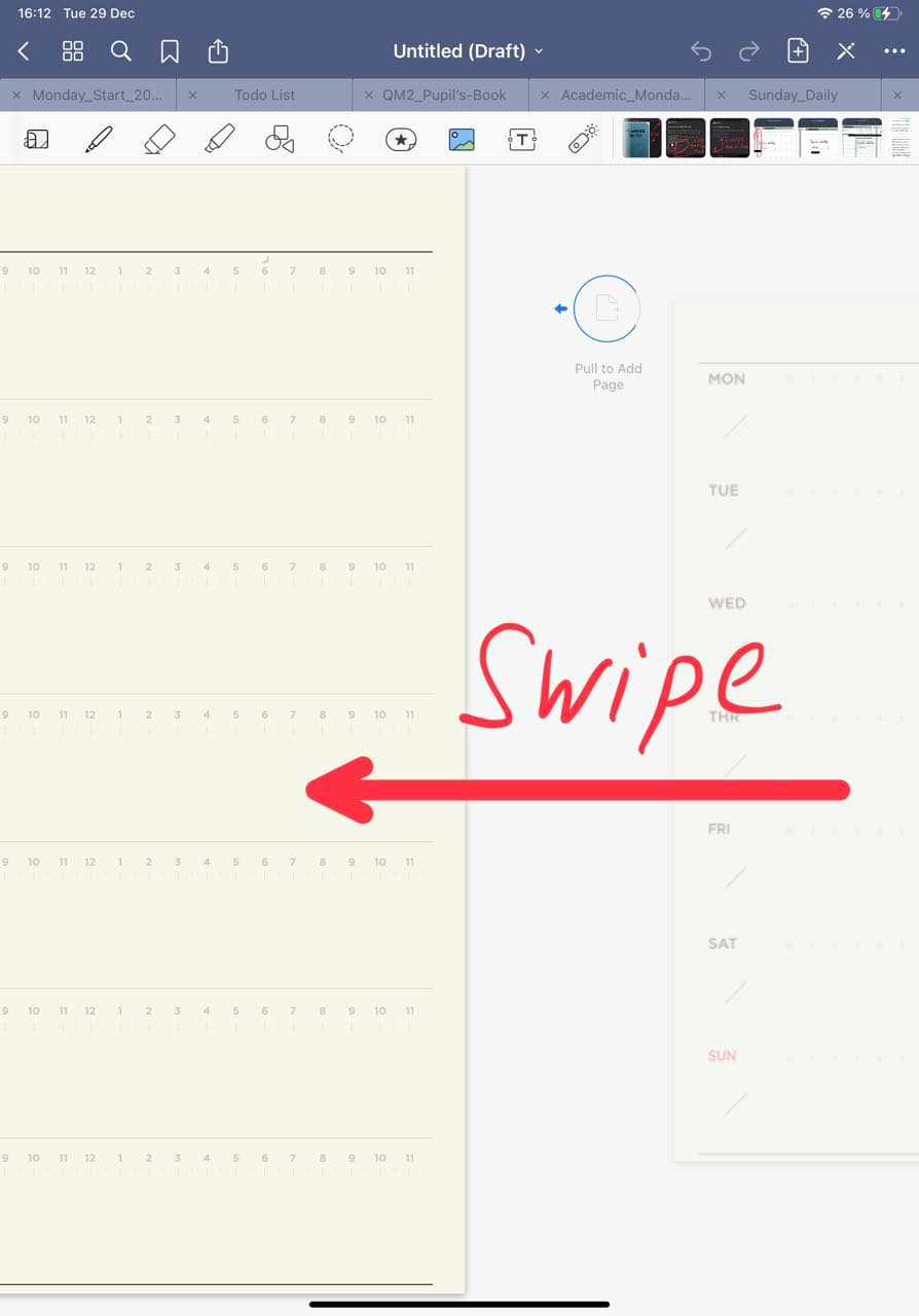 How To Duplicate Page in goodnotes 5 ipadplanner.com