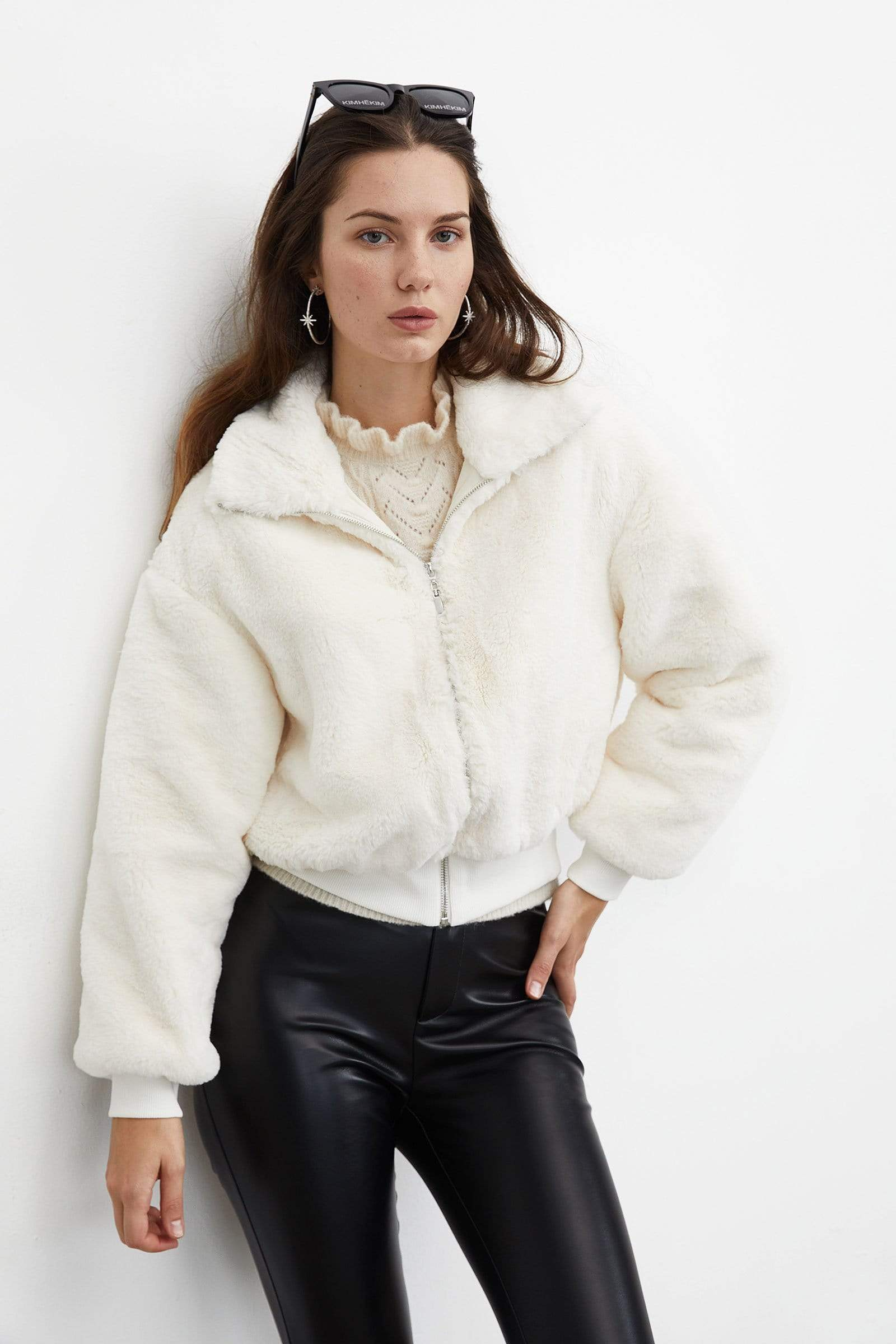 Tasha Tan Loose Blazer by J.ING Women's Work Wear Clothing