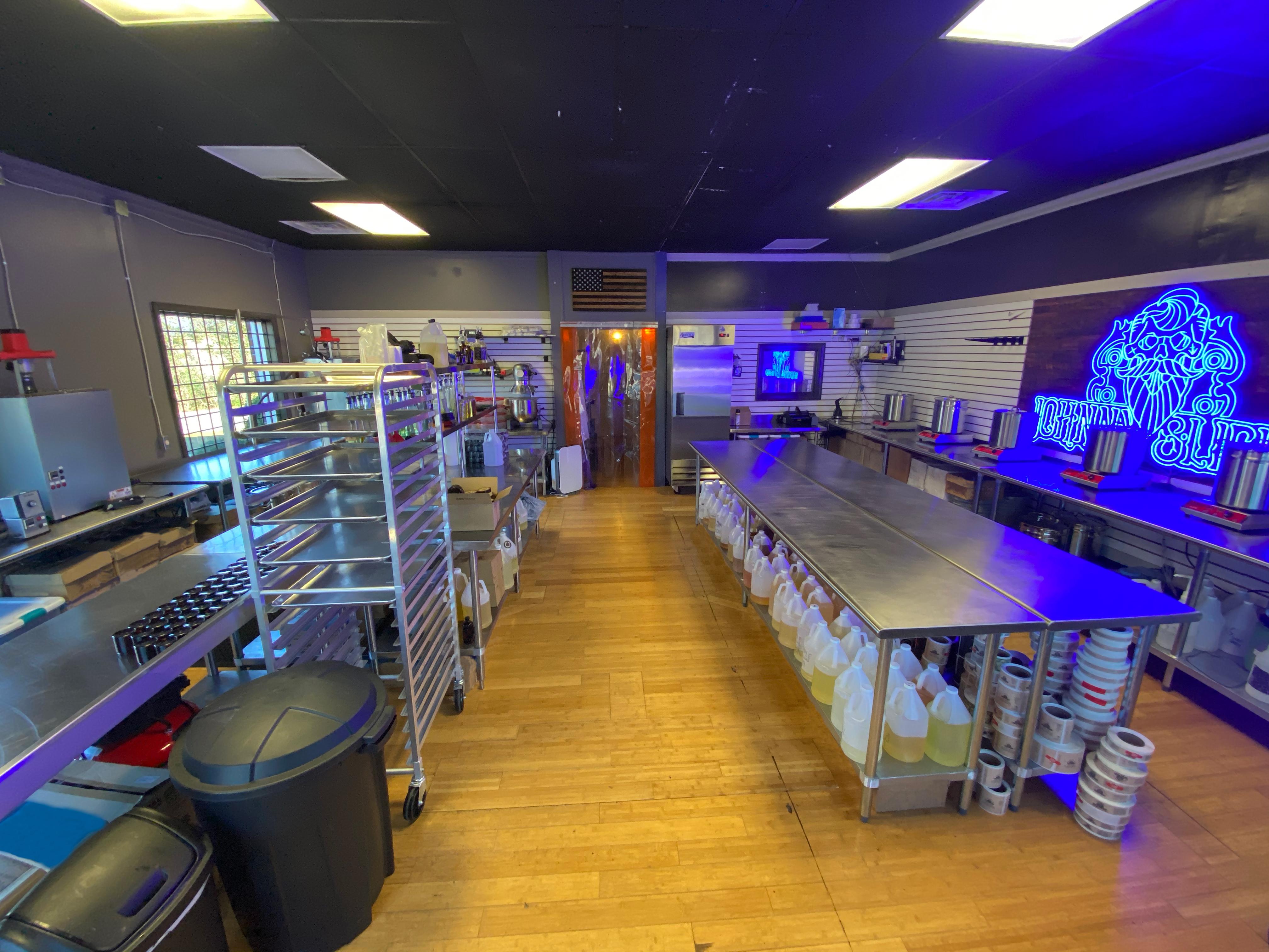 Johnny Slicks product lab