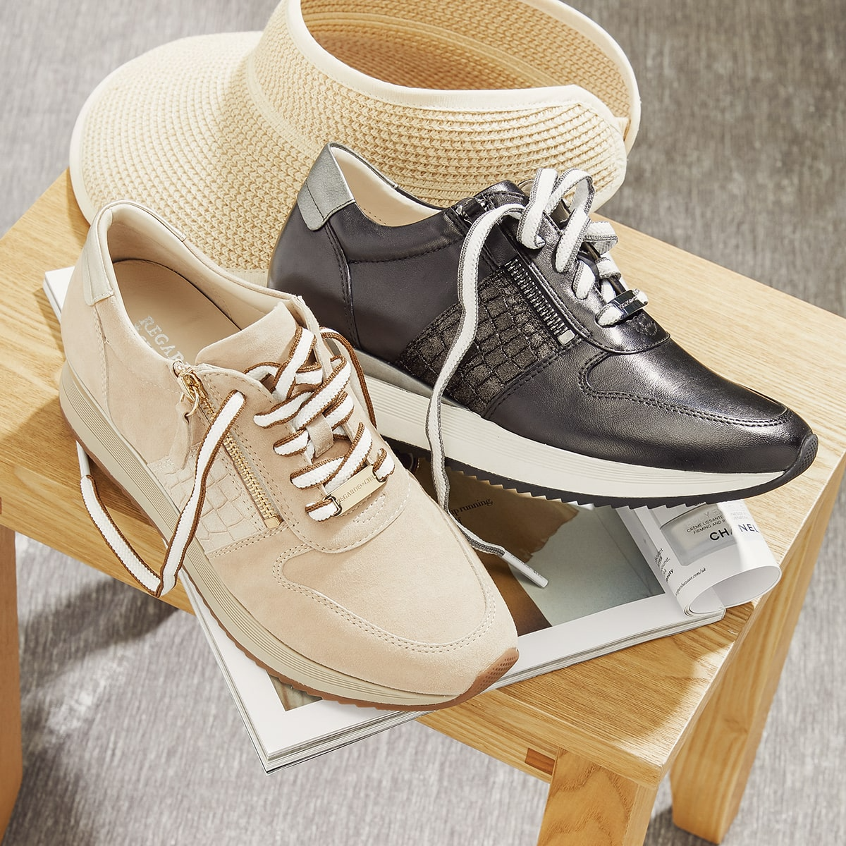 Ray Wedge Trainers