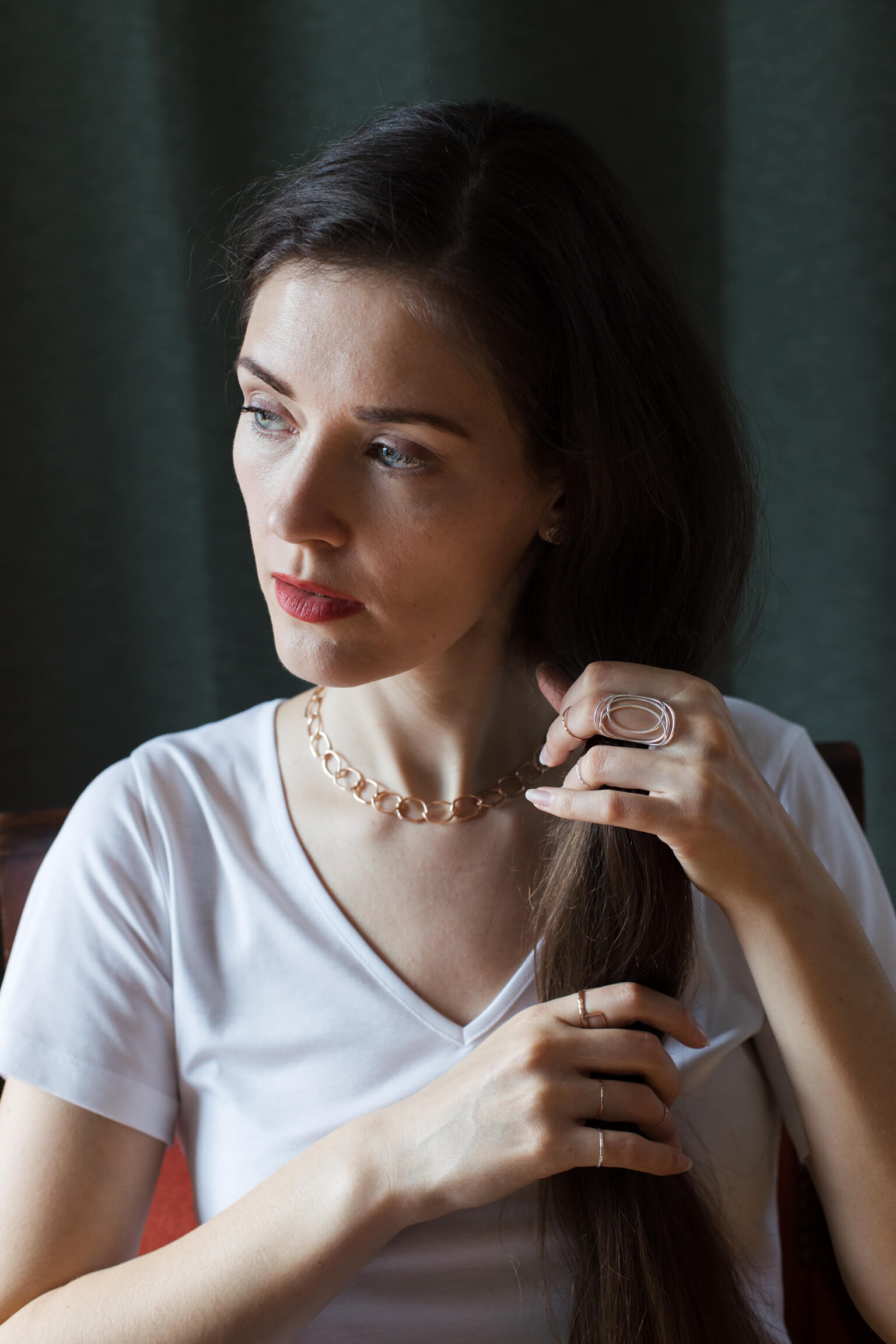 justine leconte blog post how to mix metals undertones proportions jewelry style