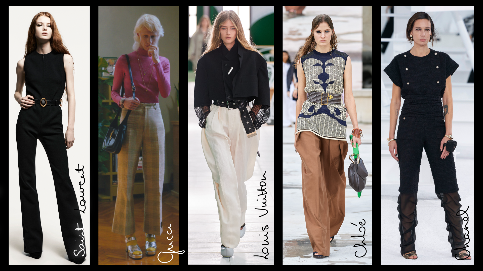 wide pants extreme comfort trends 2021 spring summer justine leconte