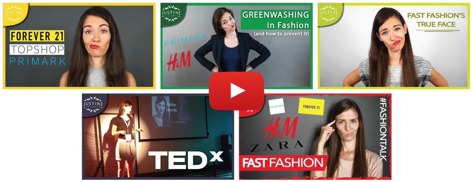 youtube playlist justine leconte fast fashion